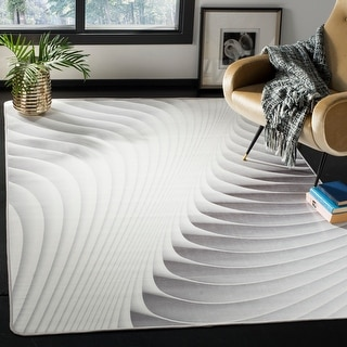 Link to Safavieh Daytona Nikki Graphic Abstract Washable Rug Similar Items in Patterned Rugs