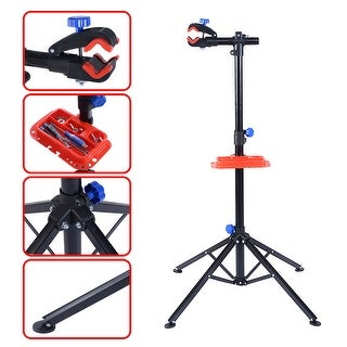 Gymax Pro Bike Adjustable Cycle Bicycle Rack Repair Stand