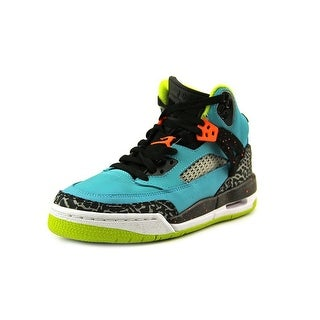 Jordan Spizike (GS) Youth Round Toe Leather Blue Basketball Shoe