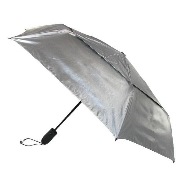 ShedRain Shedrays Auto Open & Close Vented UPF 50+ Compact Umbrella - One size