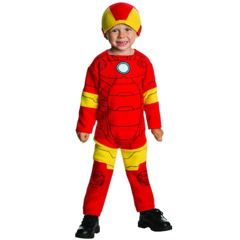 Rubies Iron Man Toddler Costume - Red