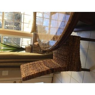 International Caravan Gaby Mahogany Dining Chair (Set of 2)