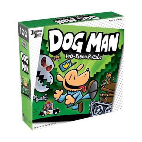 Dog Man Unleashed Jigsaw Puzzle - 100 Pcs