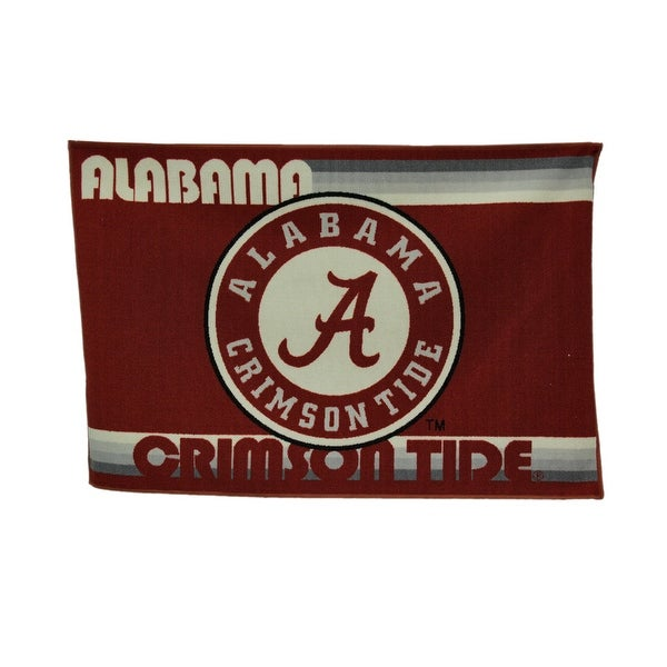 Shop University Of Alabama Crimson Tide 39 By 59 Inch Tufted Non