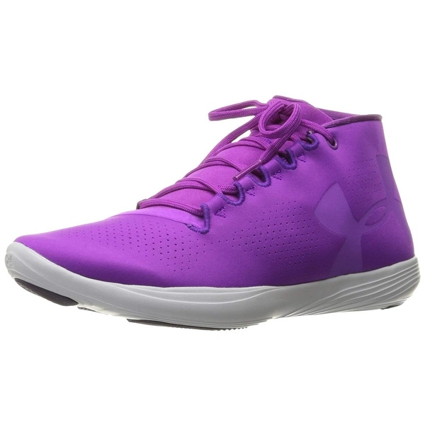 Under Armour Womens street precision Hight Top Lace Up Running Sneaker - 8.5
