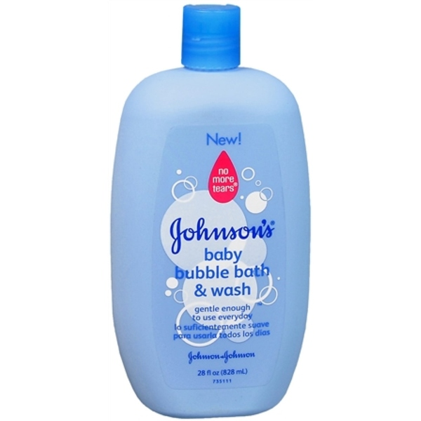JOHNSON'S Baby Bubble Bath & Wash 28 oz