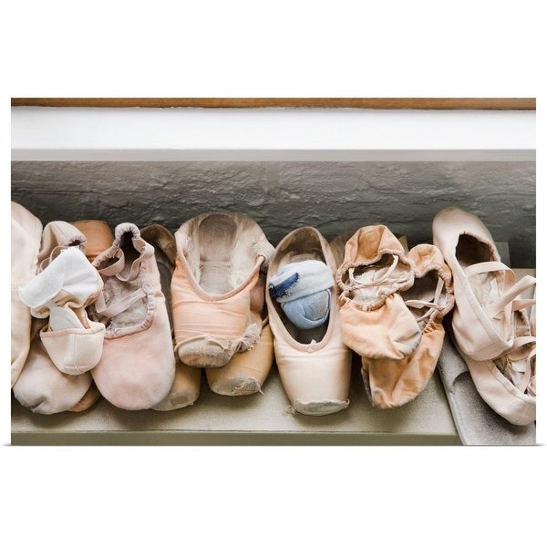 """""""Pairs of pointe shoes"""" Poster Print"""