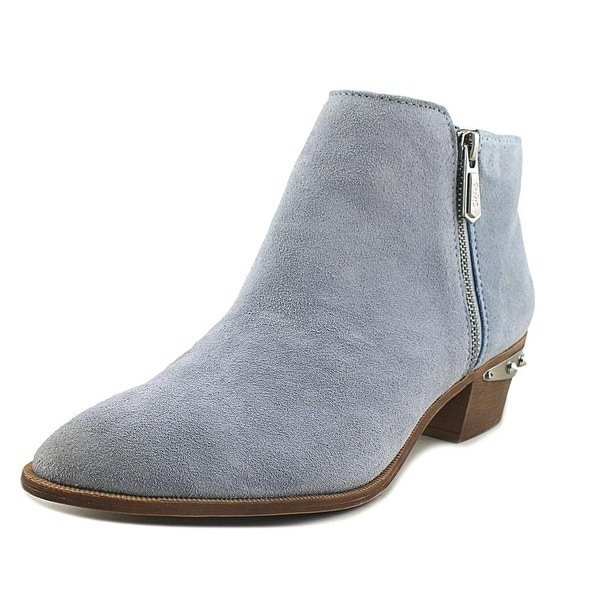 e643d64a37d5b Shop Circus by Sam Edelman Holt Women Pointed Toe Leather Blue Ankle ...