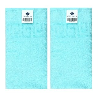 Context Set of 2 Hand/Face Towel & 1 Bath Towel Super Soft - Turquoise