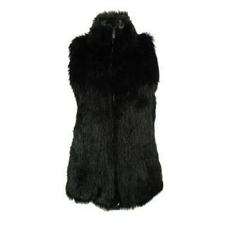Confess Juniors' Faux Fur Sweater Vest