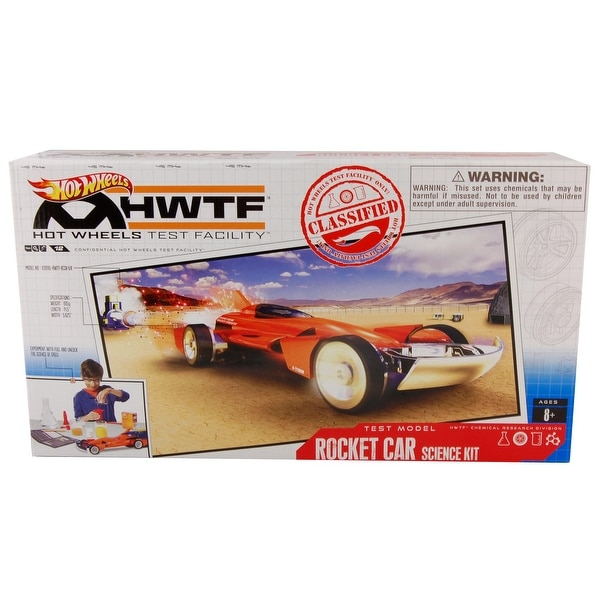 Hot Wheels Test Facility Rocket Car Science Kit - multi