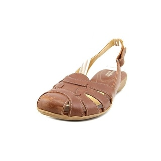 Naturalizer Cyrus N/S Round Toe Leather Slingback Sandal