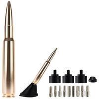 "Ammo Tenna 50Gd 5.5"" Billet Aluminum .50 Cal Replica Antenna Mast (Gold/Bright Copper)"