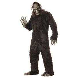 Big Foot Monster Mens Adult Halloween Costume - standard - one size