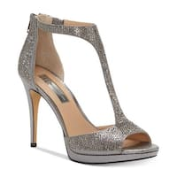 Womens Sherene Peep Toe Special Occasion Ankle Strap Sandals