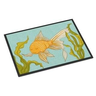 Carolines Treasures BB8544MAT Gold Fish Indoor or Outdoor Mat - 18 x 27 in.