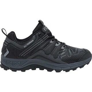 Fila Men's Blowout 19 Trail Running Shoe Black/Ebony/Metallic Silver