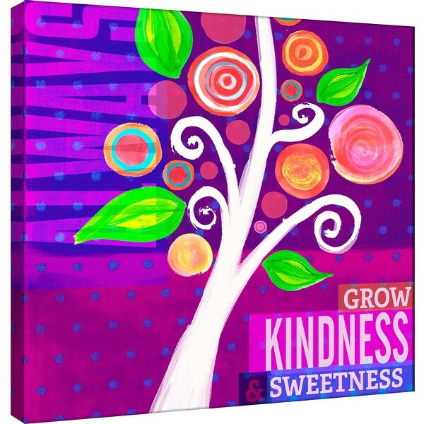"""PTM Images 9-100991 PTM Canvas Collection 12"""" x 12"""" - """"Dream Every Day - Kindness"""" Giclee Always Grow Art Print on Canvas"""