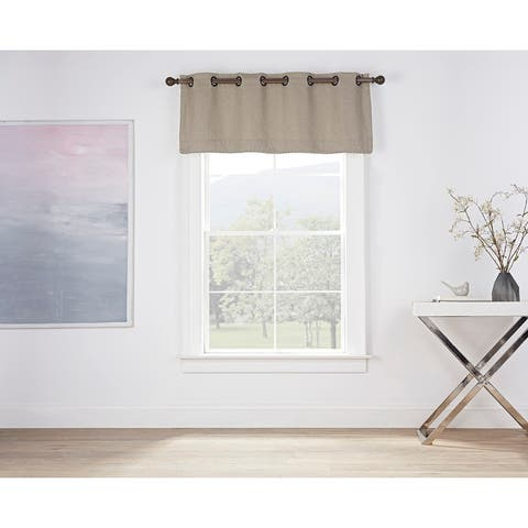 Brielle Home Montgomery Rope Trim Valance