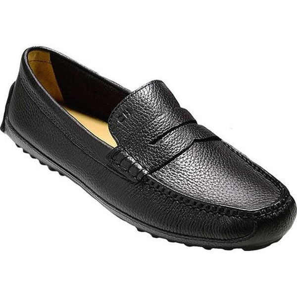 adf70bc33a9 Shop Cole Haan Men s Grant Canoe Penny Loafer Black - Free Shipping ...