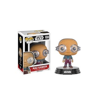 Funko POP Star Wars EP7 - Maz Kanata (no glasses) Vinyl Figure - Multi
