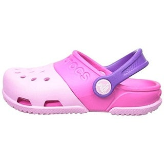 Crocs Girls Electro II Colorblock Relaxed Fit Clogs