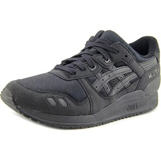 Asics Gel Lyte III Gs Youth Round Toe Synthetic Black Sneakers