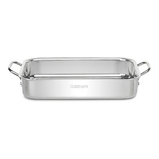 Cuisinart 7117-135 Chef's Classic Stainless Steel Lasagna Pan, 13.5""