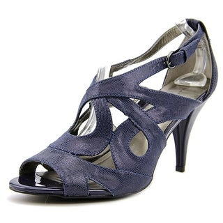 Bandolino Janeta Women Open Toe Canvas Sandals