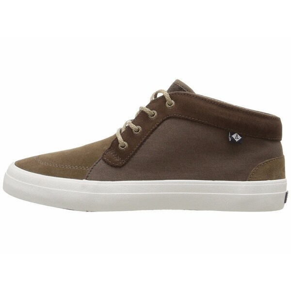 Sperry Womens Crest Knoll Canvas Low Top Lace Up Fashion Sneakers