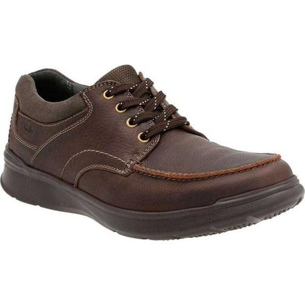 a9e7f6cf49f4 Clarks Men  x27 s Cotrell Edge Lace Up Shoe Brown Oily Cow Full Grain