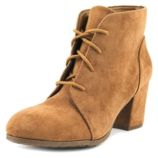 Madden Girl Torch Women  Round Toe Canvas Tan Ankle Boot