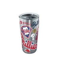 d1aaca45033 MLB Philadelphia Phillies All Over 20 oz Stainless Steel Tumbler with lid