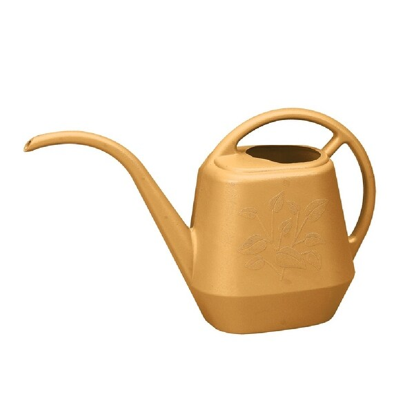 Bloem AW21-23 Aqua Rite Watering Can, Plastic, Earthly Yellow - 56 Oz. Opens flyout.