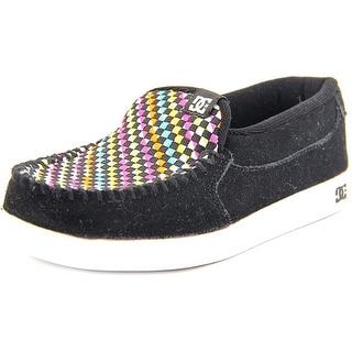 DC Shoes Villian SE Round Toe Suede Sneakers