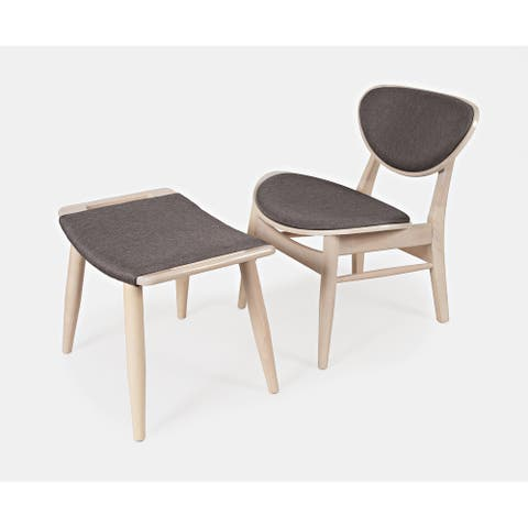 EZ-Style Relax Modern Chair and Ottoman Set by Jofran