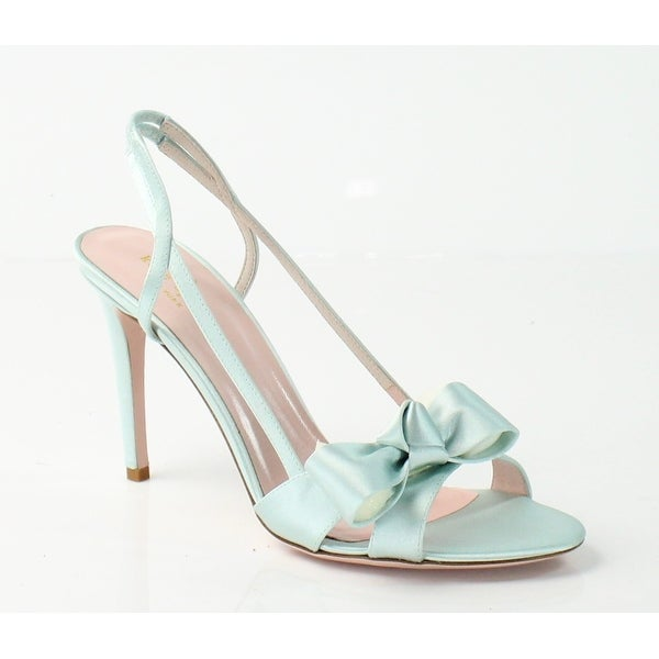 Kate Spade NEW Blue Ideal Shoes Size 10M Slingbacks Sandals