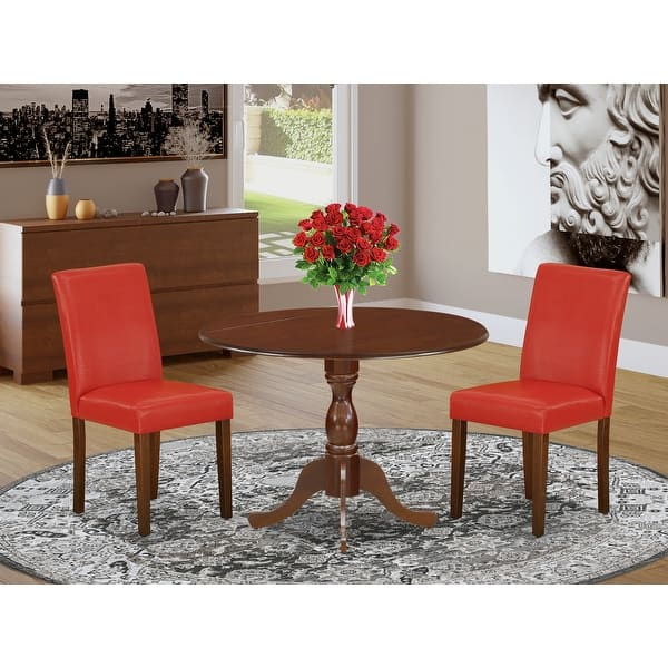 Dining Room Table Set And Padded Chair Finish Pieces Option Overstock 33559808