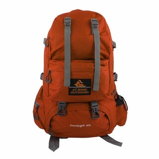 FreeKnight Authorized Outdoor Travelling Bag Camping Hiking Backpack Orange 50L