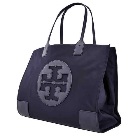 Tory Burch Ella Nylon Tote- Navy
