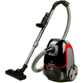 Link to Ovente Electric Canister Vacuum with 2 Speed Control, Black ST1600B Similar Items in Vacuums & Floor Care