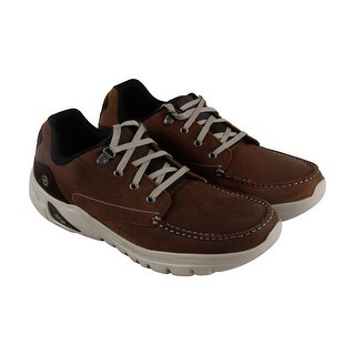 Hi-Tec V Lite Walk Lite Tenby Mens Brown Leather Casual Dress Oxfords Shoes (3 options available)