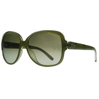 Chloe CE655/S 303 Khaki Square Sunglasses - 59-16-135