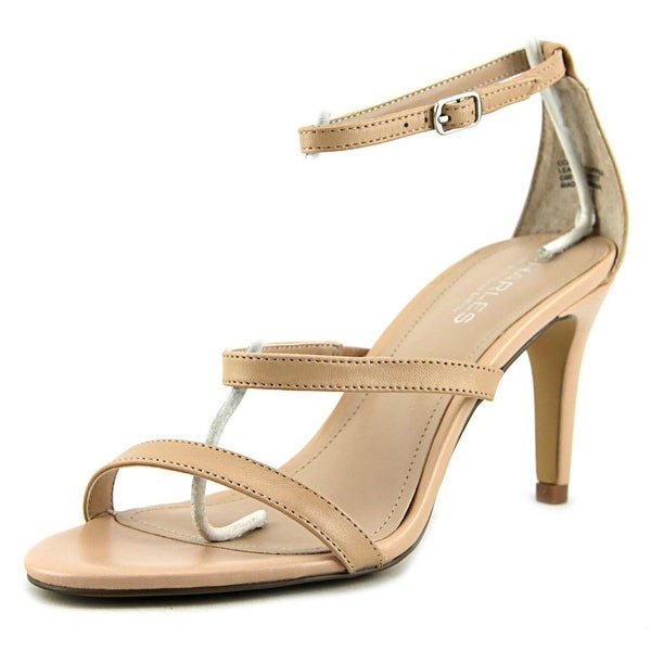 Charles By Charles David Zion Women Open Toe Synthetic Nude Sandals