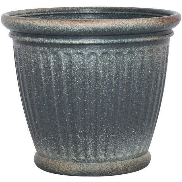 Suncast 1803GP36 Capital Planter, Granite, 18