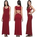 Women's Casual Summer Fashion Hollow Open Back Sleeveless Long Maxi Dress - Thumbnail 17