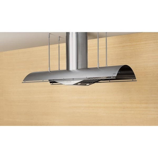 Zephyr Ctp E60bx 60 Wide Island Range Hood Less Er From The Trapeze Series