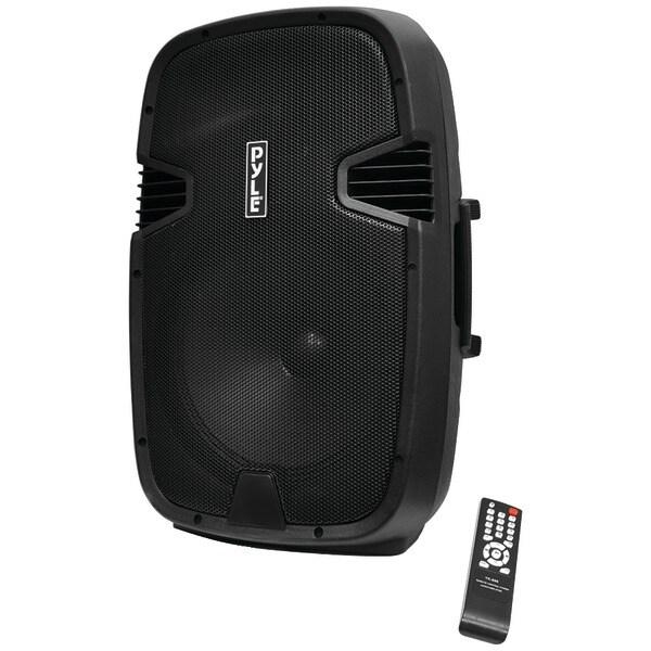 PYLE PRO PPHP152BMU 1000-Watt Portable Bluetooth(R) PA Loudspeaker Molded Cabinet Speaker System