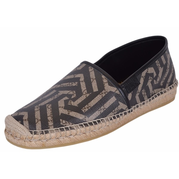 Gucci Men's 407308 GG Supreme Canvas Kaleidoscope Espadrilles Shoes 6.5G
