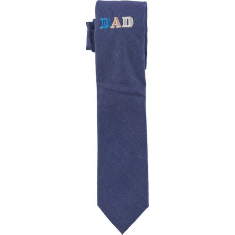 Original Penguin Mens Dad Self-tied Necktie, blue, One Size - One Size